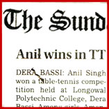 Table Tennis intra-trade competition conducted in the Longowal Polytechnic College, Derabassi on 23-Aug-2013.